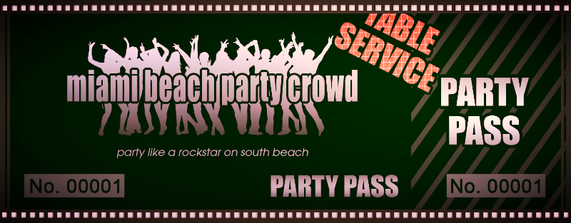 Get your Party Pass - 1 Ticket, 3 Parties, One Amazing Night!